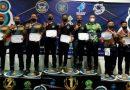 Tim Panahan Senerbal Pusdiksus Kodiklat TNI AL Rajai Kejuaraan Panahan Fly Navy Indoor Archery 2021
